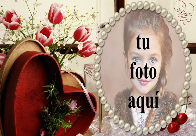 la caja de regalo romantica precioso marco de fotos - la caja de regalo romántica precioso marco de fotos