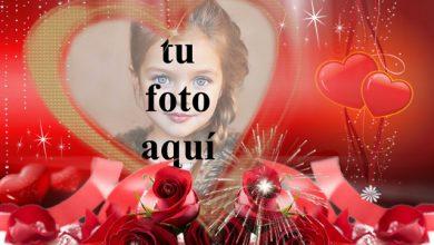 Photo of la fiesta del amor marco de fotos muy romántico