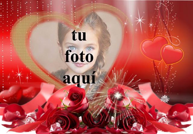 la fiesta del amor marco de fotos muy romantico - la fiesta del amor marco de fotos muy romántico