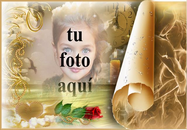 marco de fotos romantico de la tierra de los suenos - marco de fotos romántico de la tierra de los sueños