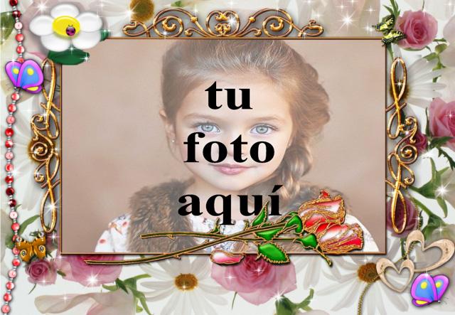 mi marco de fotos romantico decorado - mi marco de fotos romántico decorado