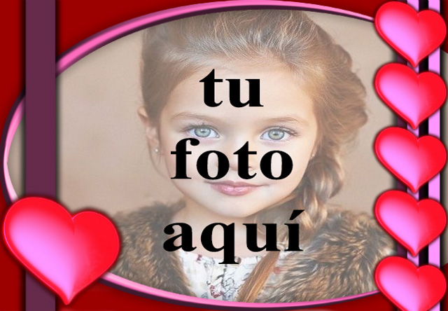 el grupo de romanticos corazones rojos marco de fotos - el grupo de románticos corazones rojos marco de fotos