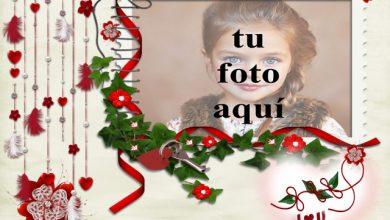 el marco de fotos bonito decorado romantico 390x220 - el marco de fotos bonito decorado romántico