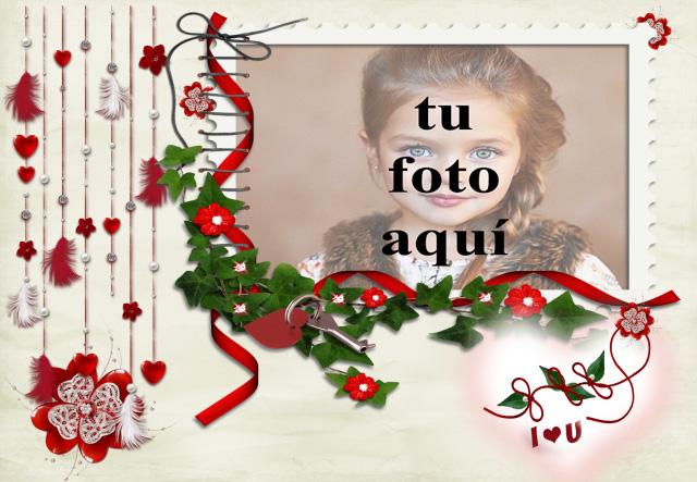 el marco de fotos bonito decorado romantico - el marco de fotos bonito decorado romántico