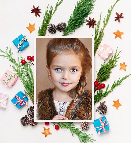 marcos fotos navidenas - marcos fotos navideñas