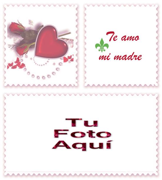 Mama Te Amo Foto Marco - Mamá Te Amo Foto Marco