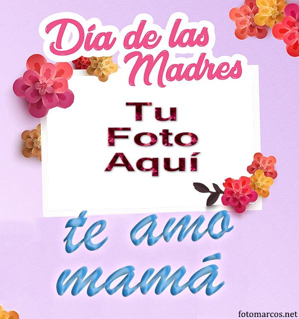 Te Amo Mama Foto Marco - Te Amo Mama Foto Marco